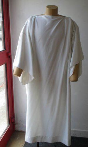 Tunique gospel blanche