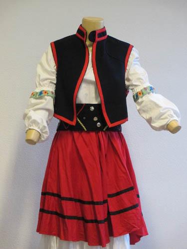 Russe Costume Traditionnel Chemisier Jupeamp; Sur Seine ZOXkiuP