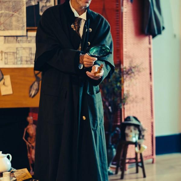 Ensemble Sherlock Holmes Costume de détective