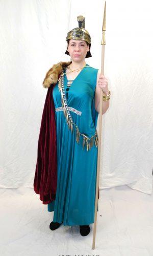 costume guerrière Athéna Déesse grecque