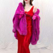 robe rouge année folles