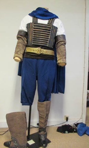 Cuirasse de soldat antique
