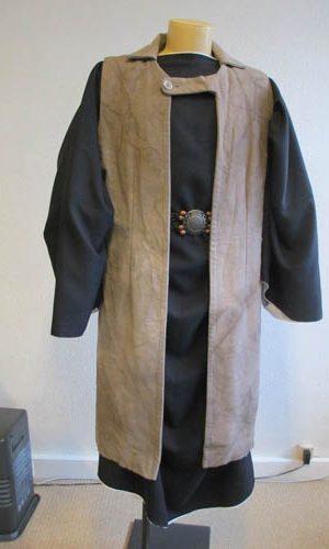 Manteau de marchand hébreux antique