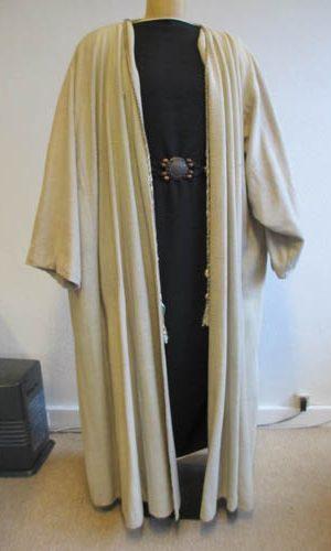 Manteau de riche marchand du desert
