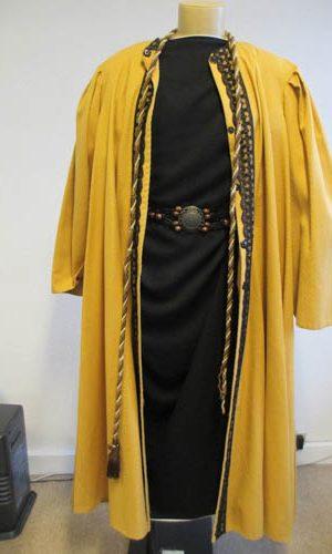 Manteau de riche marchand du désert