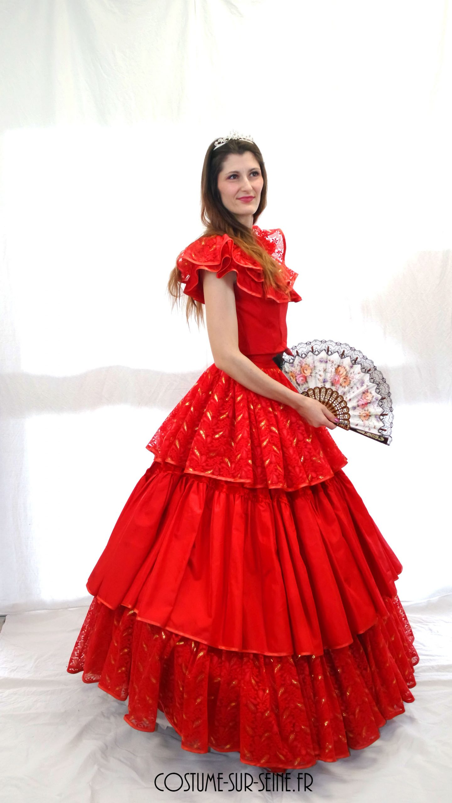 Robe espagnol  Bal 2nd Empire