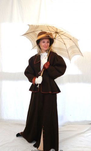 location costume Bourgeoise 1900