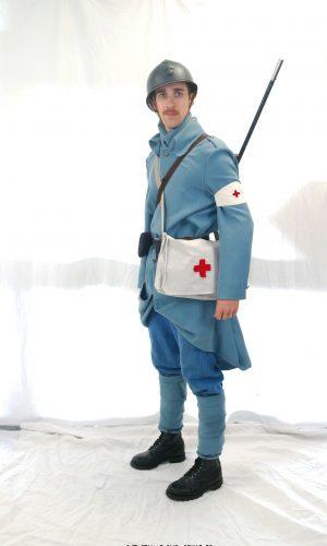 Soldat 14-18 poilus brancardier