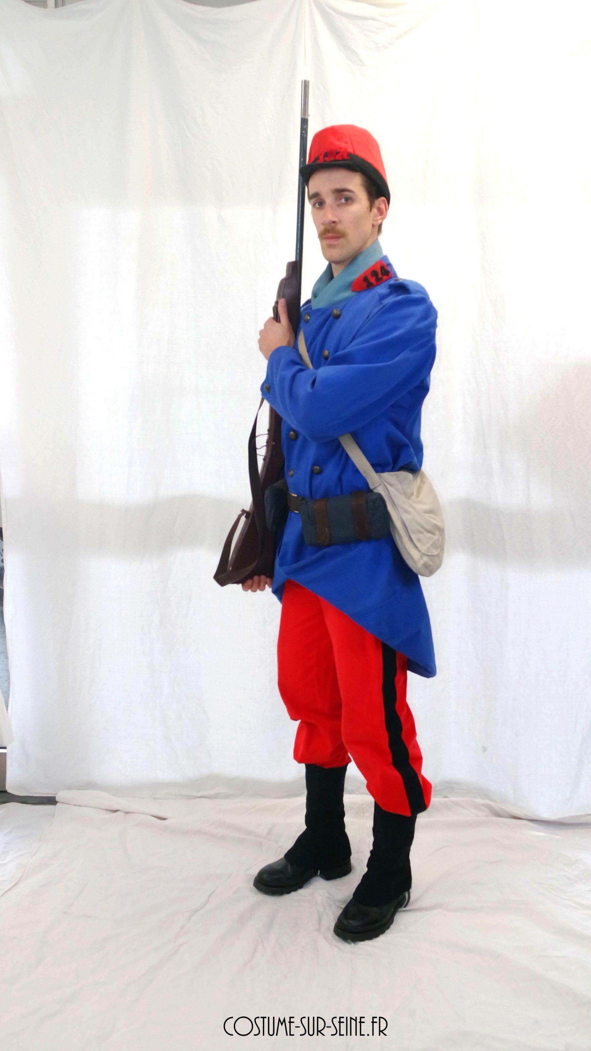 Soldat Français 1914 piou piou