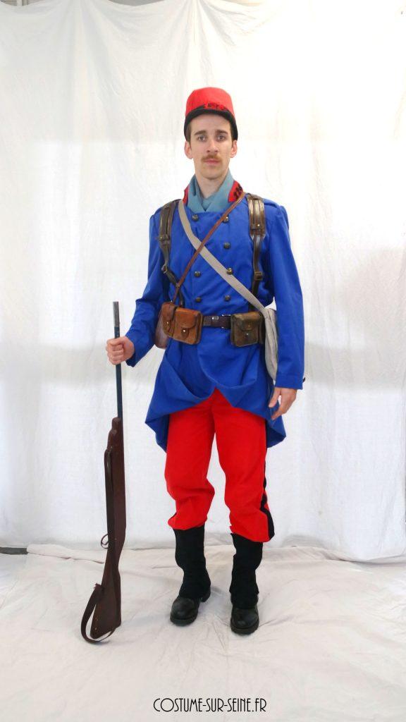 location costume Soldat FR 1914