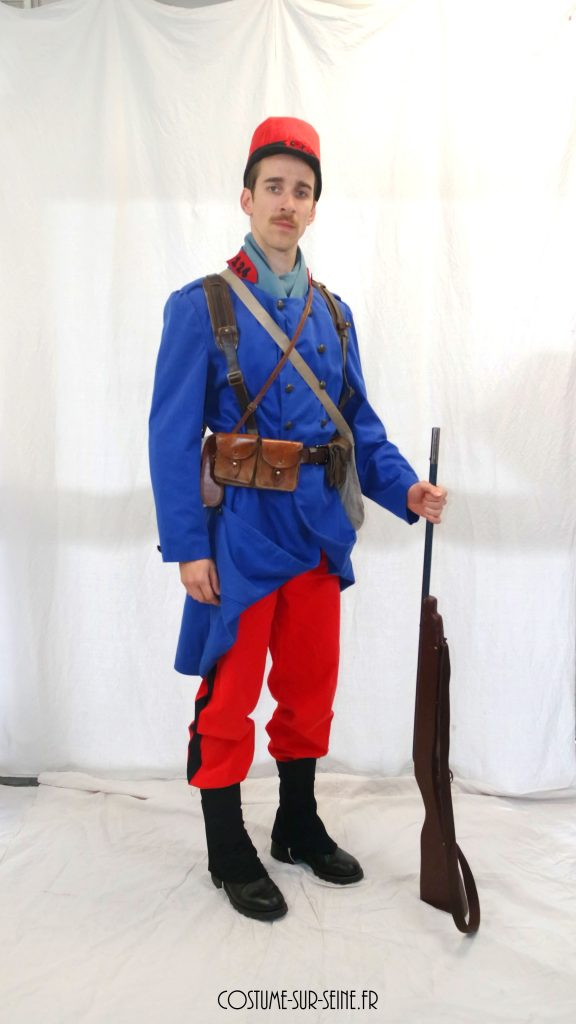location costume Soldat FR 1914