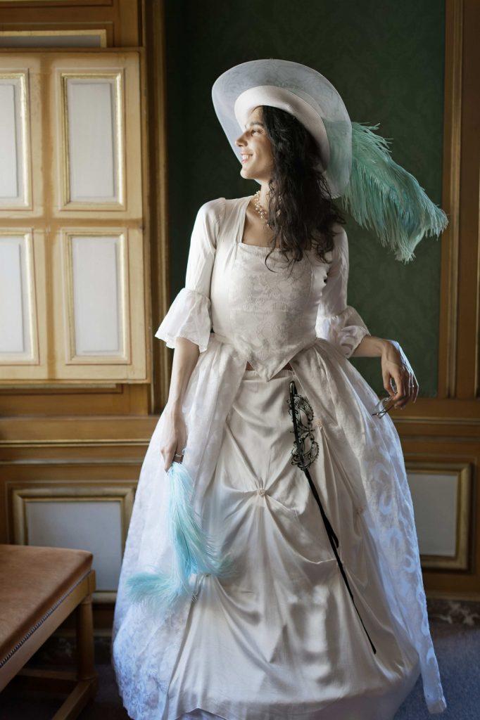 Robe Marie-Antoinette Blanche
