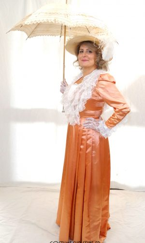 Robe belle époque costume