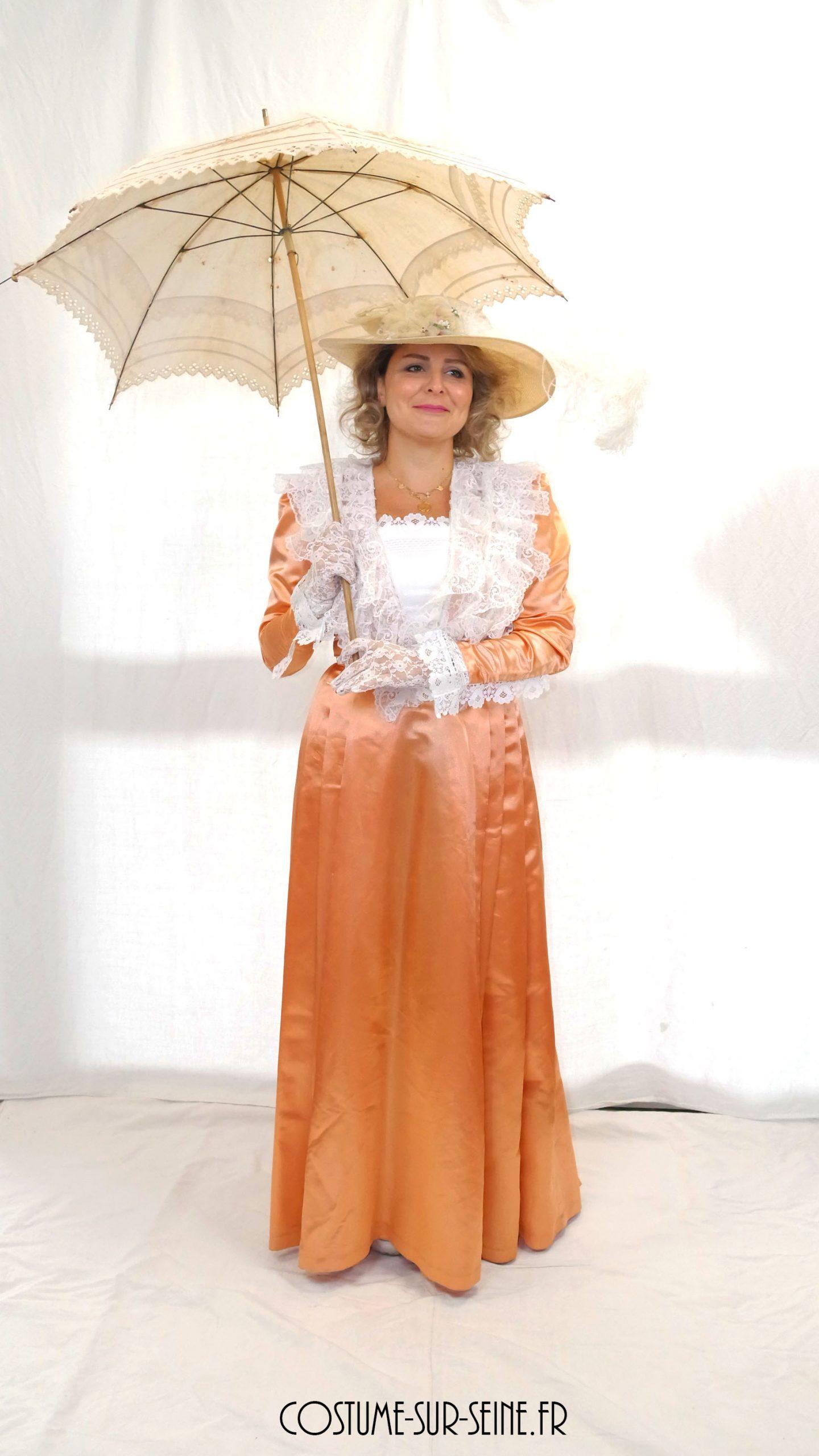 Robe belle époque costume