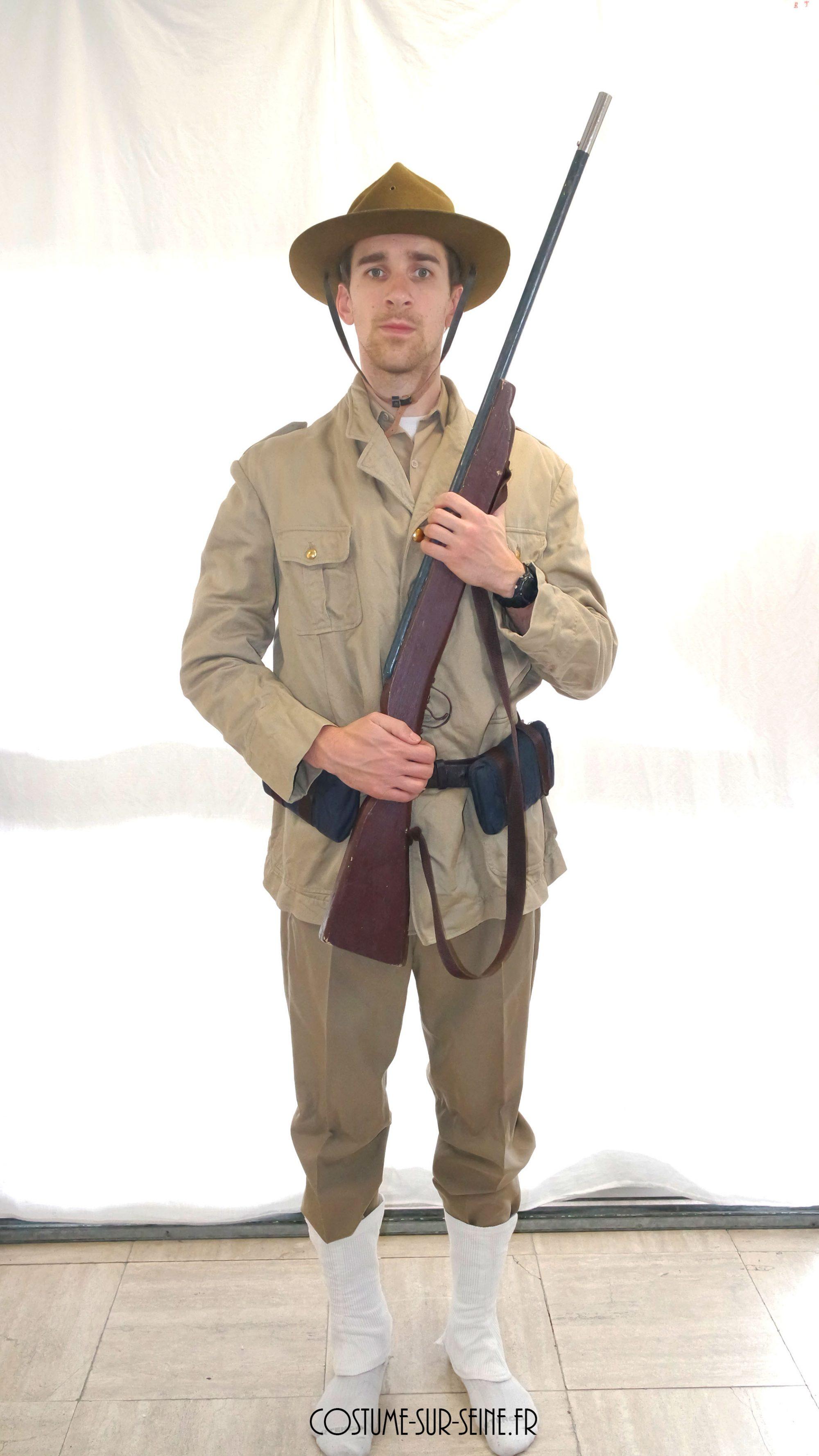 Soldat américain 1914
