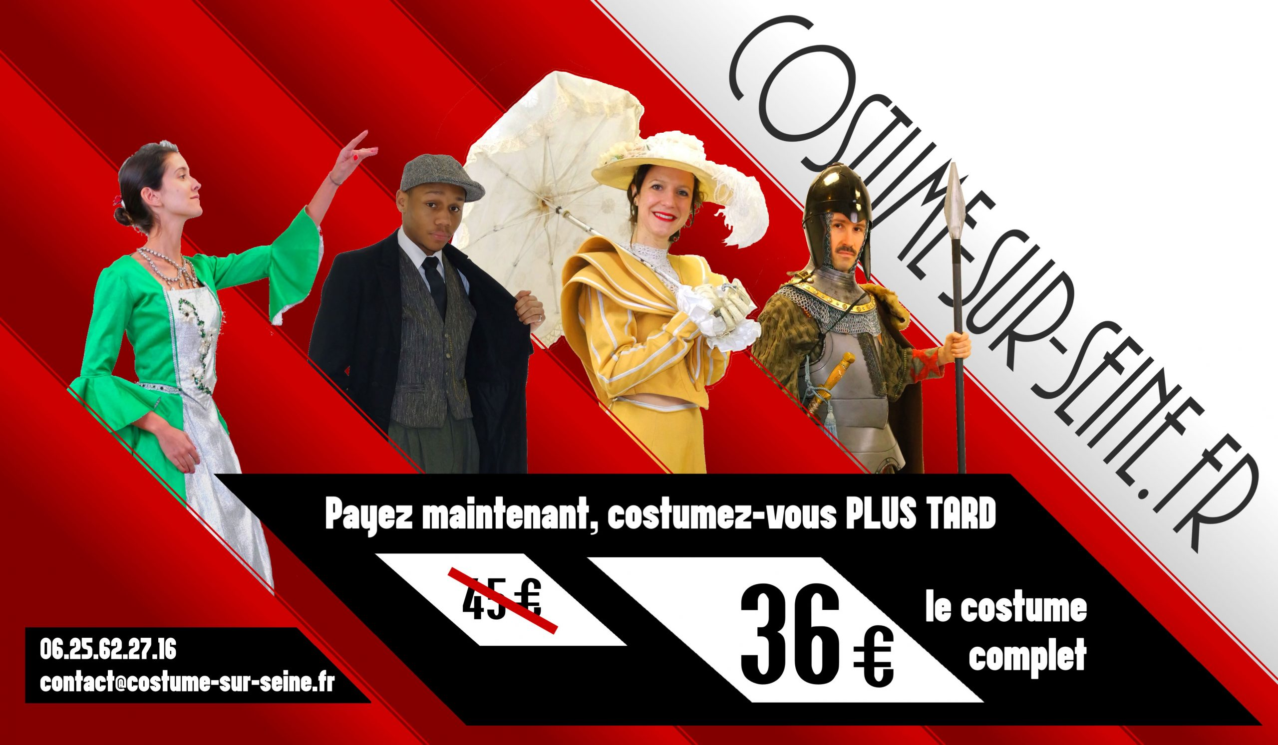 location de costume promotion