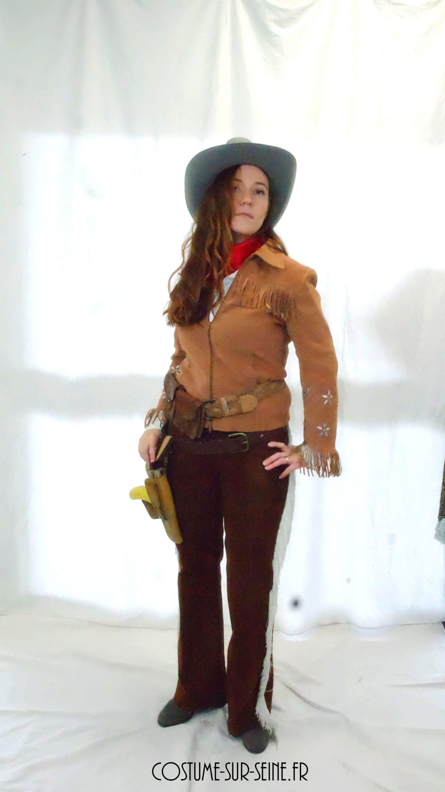 costume femme western