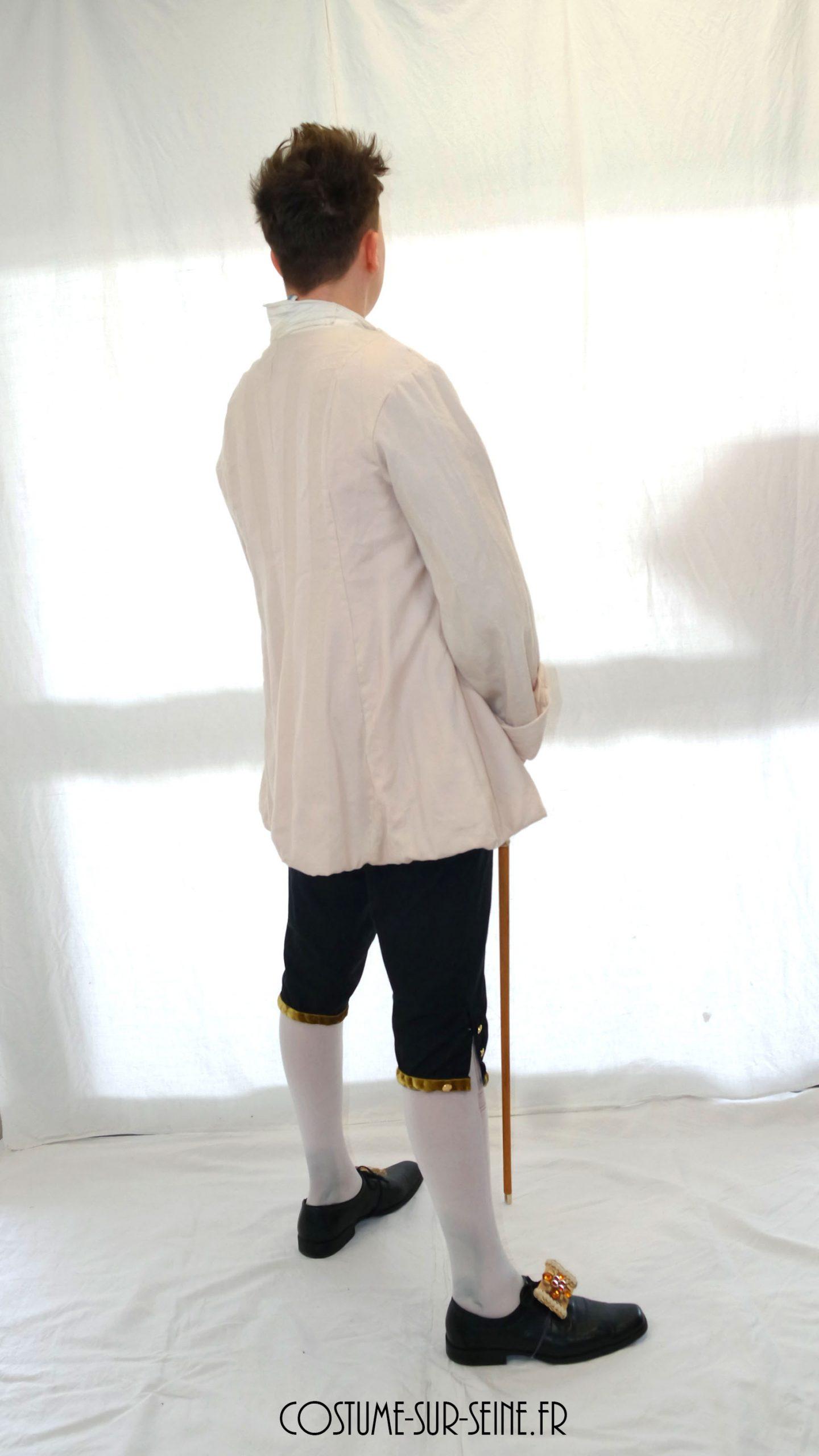 veste crème d'époque